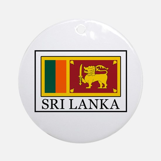 Sri Lanka Ornament (Round)