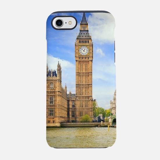 London Bridge And Big Ben iPhone 7 Tough Case