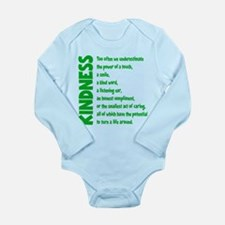 POWER OF TOUCH Long Sleeve Infant Bodysuit