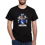 Todt Family Crest   Dark T-Shirt