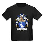 Todt Family Crest   Kids Dark T-Shirt