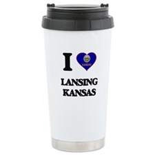 I love Lansing Kansas Travel Mug