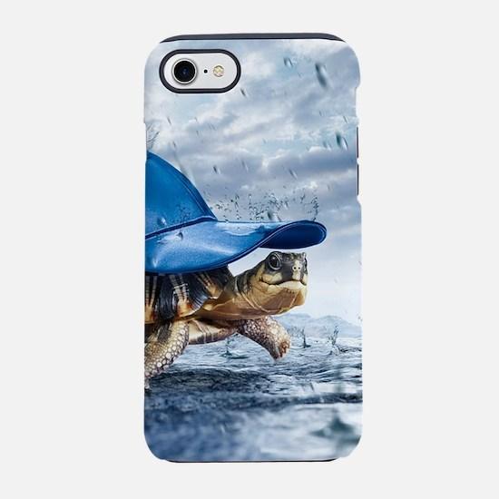Turtle With Cap iPhone 7 Tough Case
