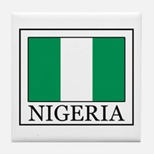 Nigeria Tile Coaster