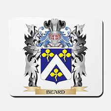 Beard Coat of Arms - Family Crest Mousepad