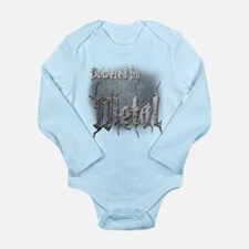 Metal 4 Long Sleeve Infant Bodysuit
