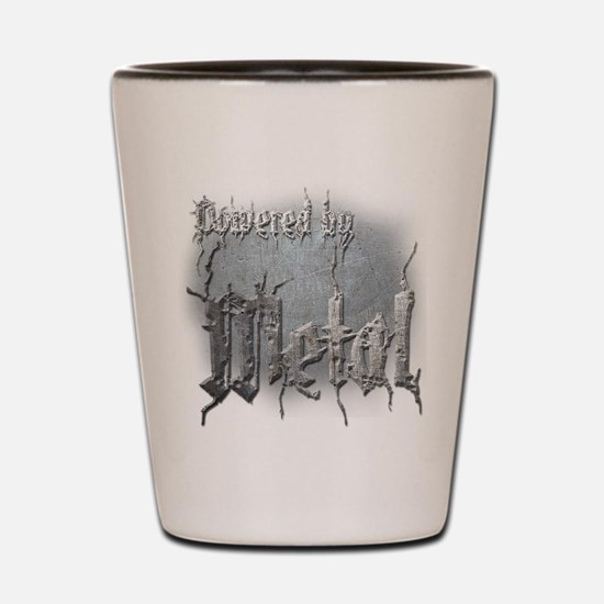 Metal 4 Shot Glass