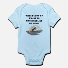 Waterski Like My Daddy Body Suit