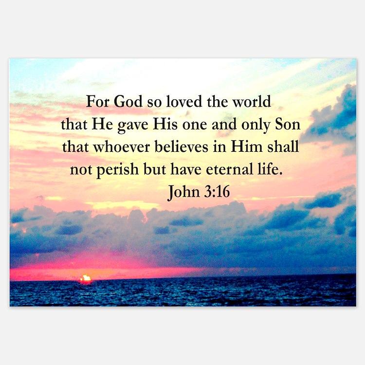 UPLIFTING JOHN 3:16 Invitations