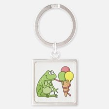 Frog with Icecream Keychains