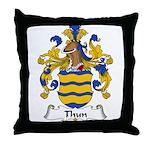 Thun Family Crest Throw Pillow