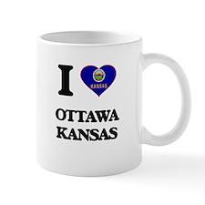 I love Ottawa Kansas Mugs