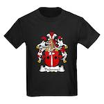 Thummel Family Crest  Kids Dark T-Shirt