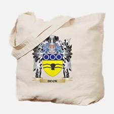Beck Coat of Arms - Family Crest Tote Bag