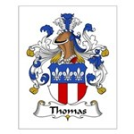 Thomas Family Crest Small Poster