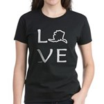 Love Alaska Women's Dark T-Shirt