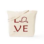 Love Alaska Tote Bag