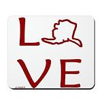 Love Alaska Mousepad