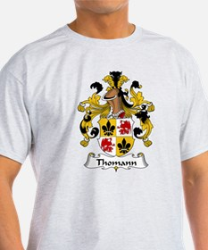 Thomann Family Crest  T-Shirt