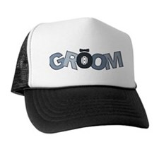 BP Letters Groom Trucker Hat