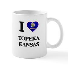 I love Topeka Kansas Mugs
