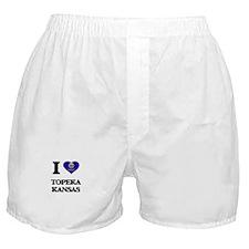 I love Topeka Kansas Boxer Shorts