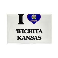 I love Wichita Kansas Magnets