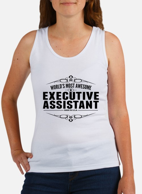 Worlds Most Awesome Executive Assistant Tank Top