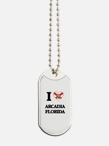 I love Arcadia Florida Dog Tags