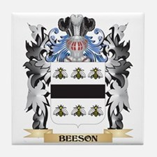 Beeson Coat of Arms - Family Crest Tile Coaster