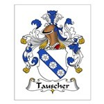 Tauscher Family Crest Small Poster