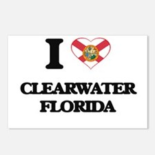 I love Clearwater Florida Postcards (Package of 8)