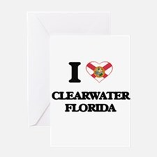 I love Clearwater Florida Greeting Cards