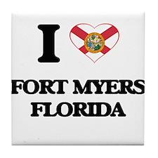 I love Fort Myers Florida Tile Coaster