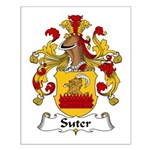Suter Family Crest Small Poster