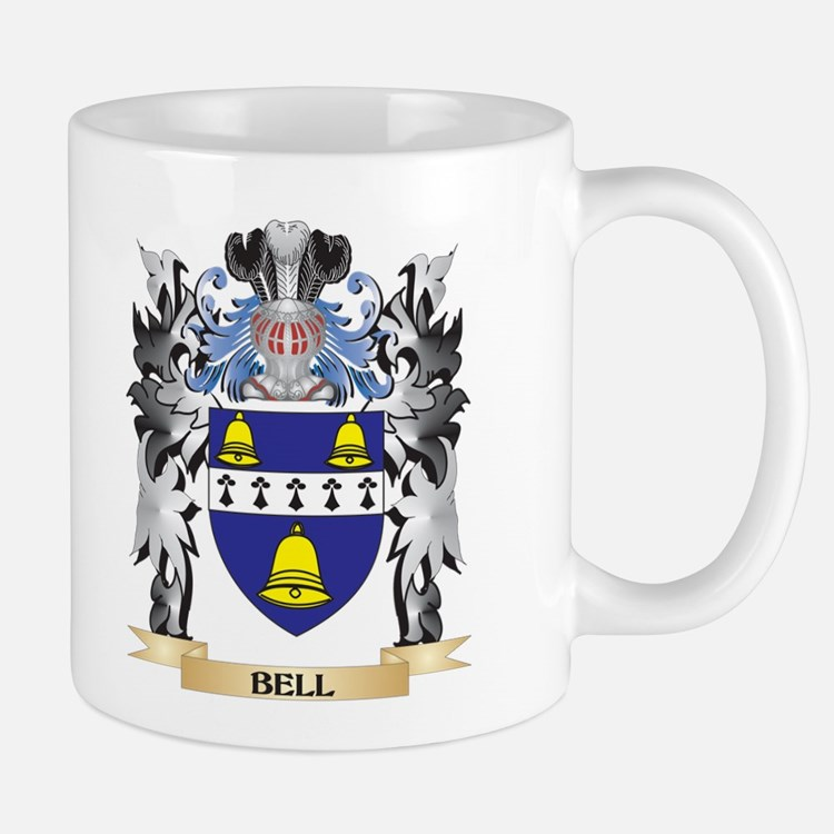 Bell Coat of Arms - Family Crest Mugs