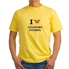 I love Gulfport Florida T-Shirt