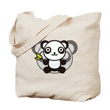 The stuffed toy of the panda Tote Bag