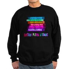 Retired Postal worker BOOK STACK Sweatshirt
