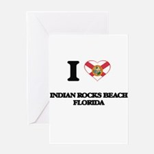 I love Indian Rocks Beach Florida Greeting Cards
