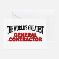 """The World's Greatest General Contractor"" Greeting"