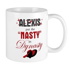 Alexis Put The Nasty In Dynasty Mugs