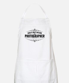 Worlds Most Awesome Photographer Apron