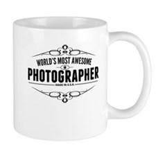 Worlds Most Awesome Photographer Mugs