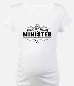 Worlds Most Awesome Minister Shirt