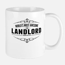 Worlds Most Awesome Landlord Mugs