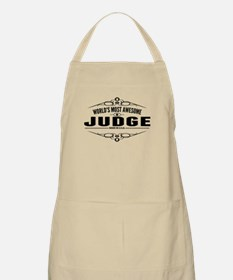 Worlds Most Awesome Judge Apron
