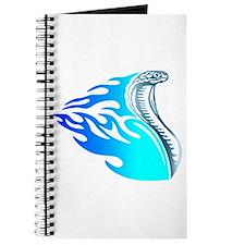 Blue Flames Cobra Tribal Journal