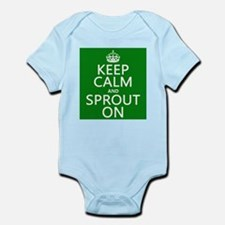 Keep Calm and Sprout On Body Suit