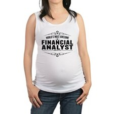 Worlds Most Awesome Financial Analyst Maternity Ta